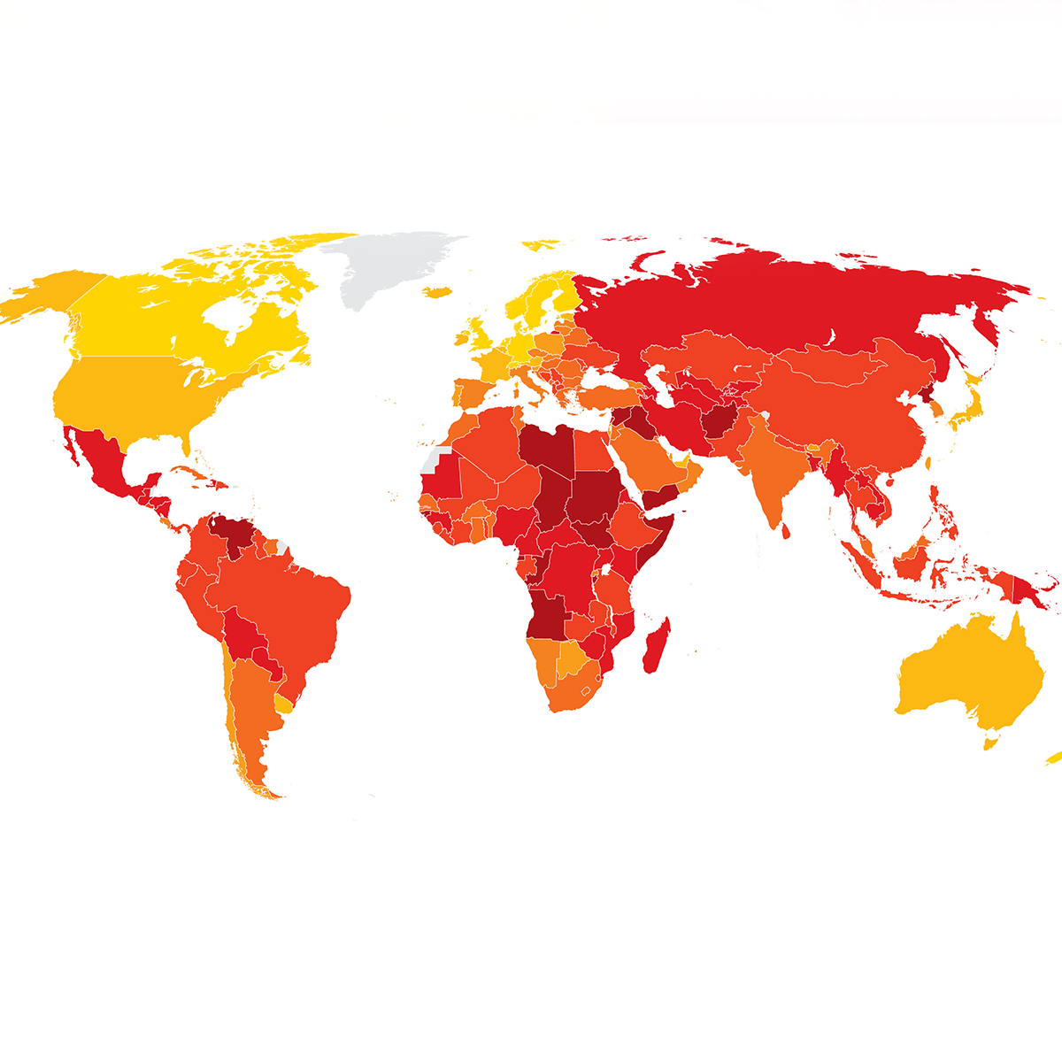 Corruption Perceptions Index 2018 - Transparency International