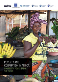 Cover of Poverty and Corruption in Africa brochure