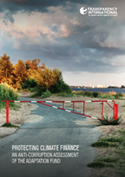 Cover image of report from the Protecting Climate Finance series