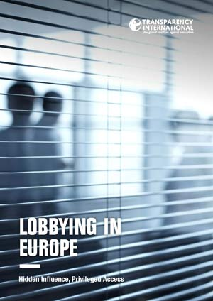 Cover image: Lobbying in Europe