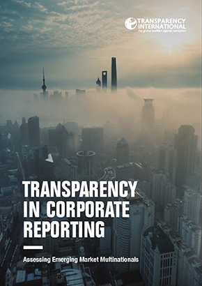Cover image of Transparency In Corporate Reporting report