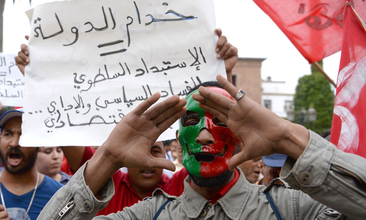 Middle East & North Africa: corruption continues as institutions and political rights weaken
