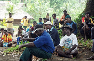 Meeting in Manus image
