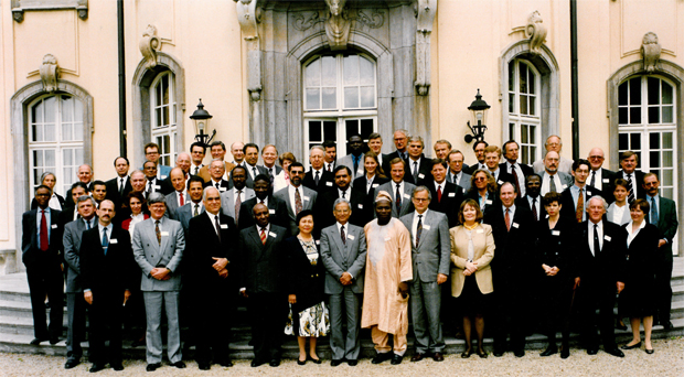 Founding meeting of Transparency International, 1993
