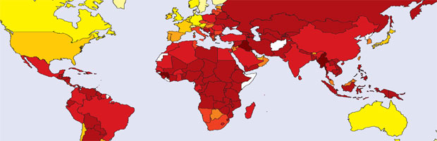 CPI 2006 map graphic