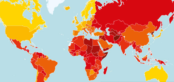 How does your country rank in terms of public sector corruption? Find out in our 2013  				Corruption Perceptions Index