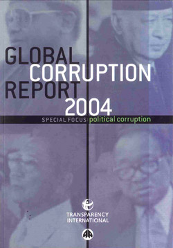 Cover of GCR: Political Corruption