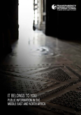 It belongs to you: Public information in the Middle East and North Africa