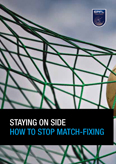 Match fixing brochure cover