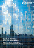 Business principles for countering bribery, cover