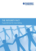 Cover of Integrity Pacts brochure